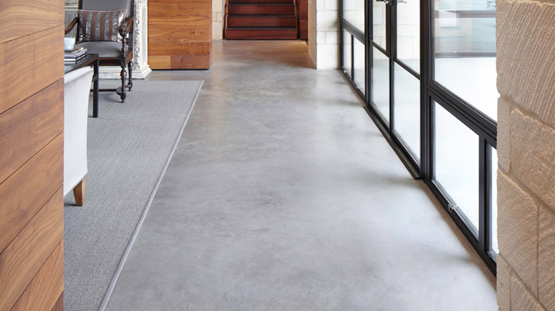 Residential polished concrete floors cost american hwy for Residential concrete floor wax