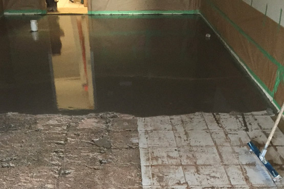 Coatings Removal Self Levelling Installation Vancouver Concrete Floors